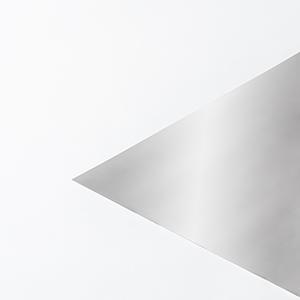 W feuille 0,05 x 160 x 600 mm